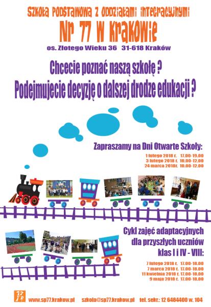 Zaproszenie Dla Przyszłych Uczniów I Ich Rodziców Szkoła